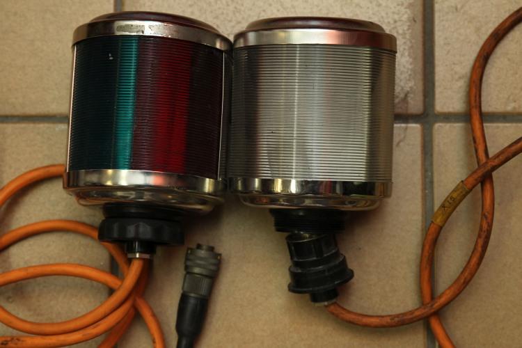 Aqua signal 50 diverse gebrauchte navigationslaternen for Gebrauchte lampen